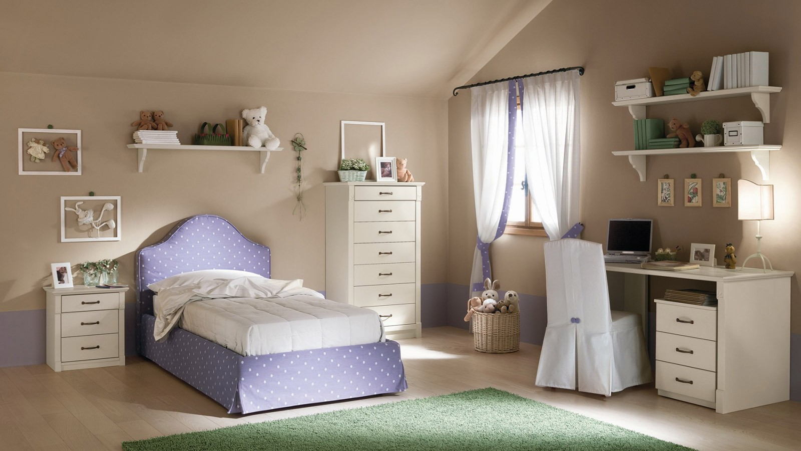 Camere da letto per single camere moderne per bambini for Camere per single arredamento