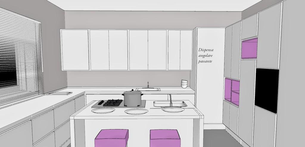 Come mascherare una porta in cucina. - lineatre - kucita - gli ...