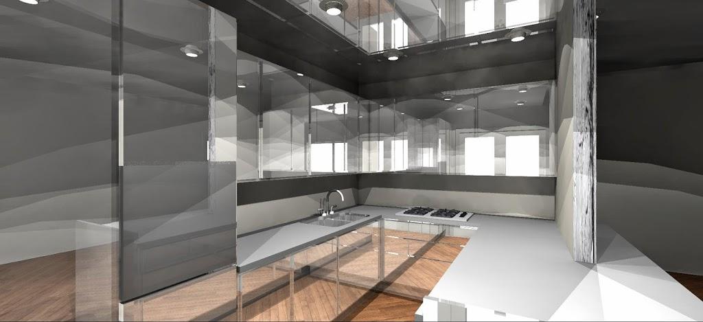 Una cucina a specchio lineatre arredamenti alberobello - Pareti a specchio ...