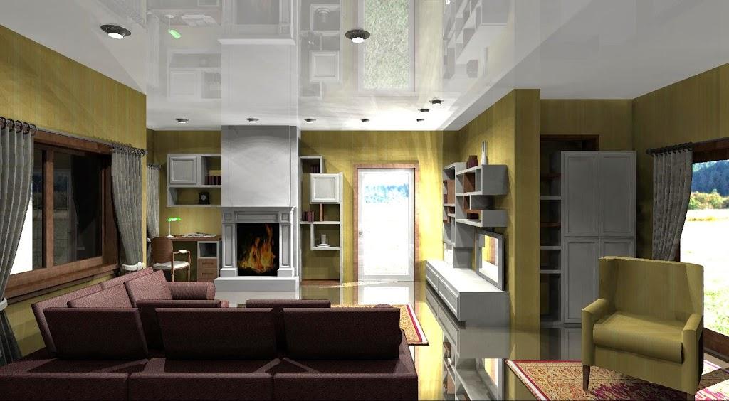 uno studio a vista nel soggiorno - lineatre arredamenti alberobello - Zona Studio Nel Soggiorno 2