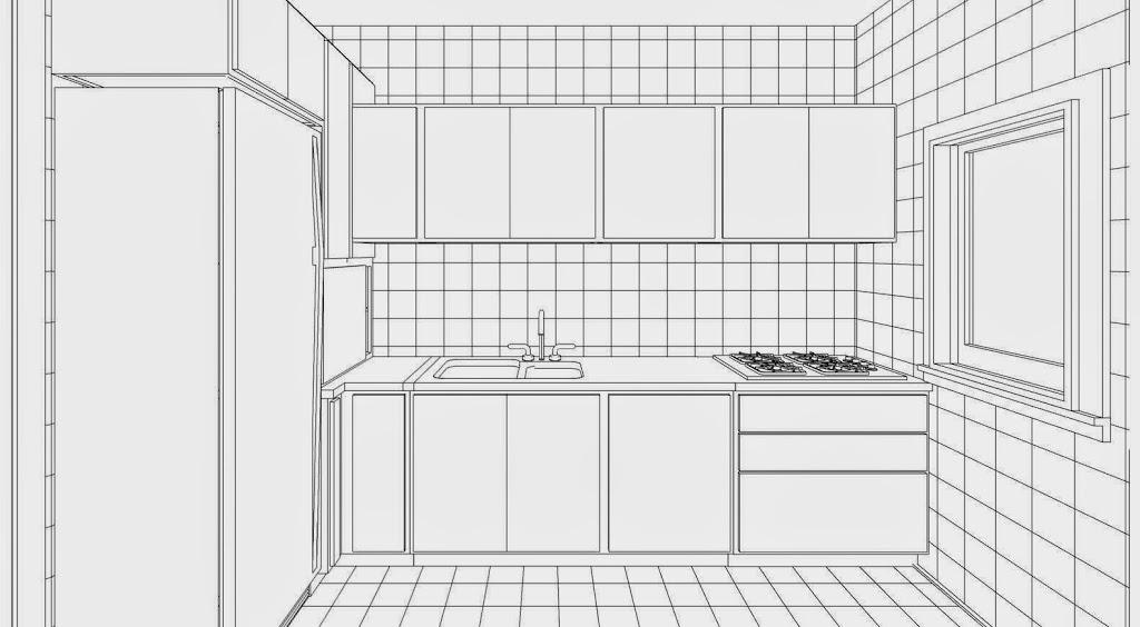 Come arredare il cucinino lineatre arredamenti - Come progettare una cucina ad angolo ...