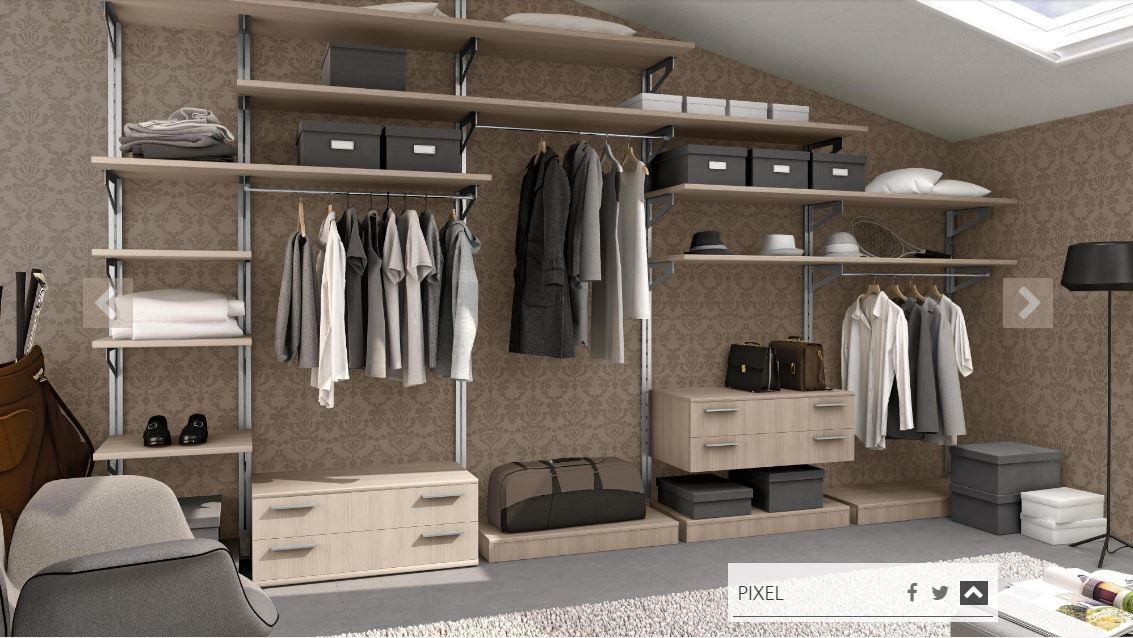 La cabina armadio soluzioni tipologie e costi medi - Soluzioni per cabine armadio ...