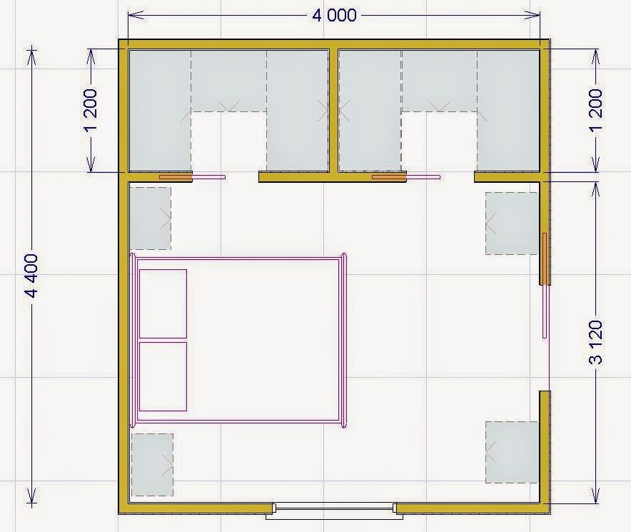 La cabina armadio soluzioni tipologie e costi medi for Misure cabina armadio
