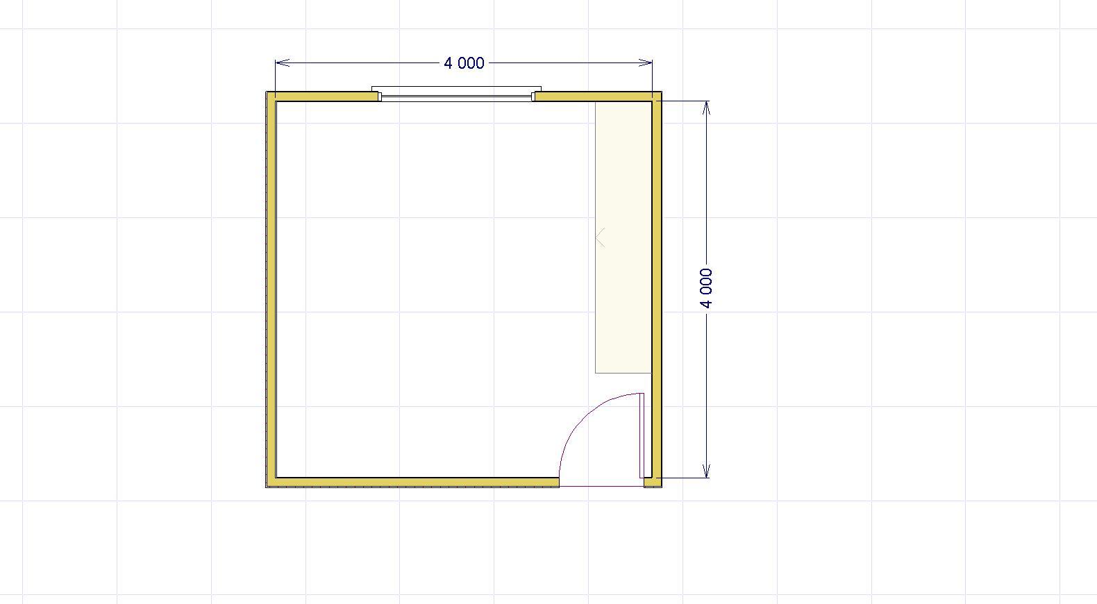 Dimensioni camera matrimoniale archivi lineatre for Camera da letto misure