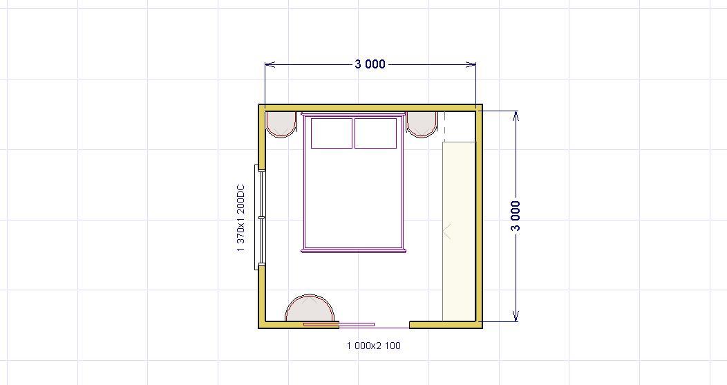 Come arredare una piccolissima camera matrimoniale for Arredare camera da letto di 10 mq