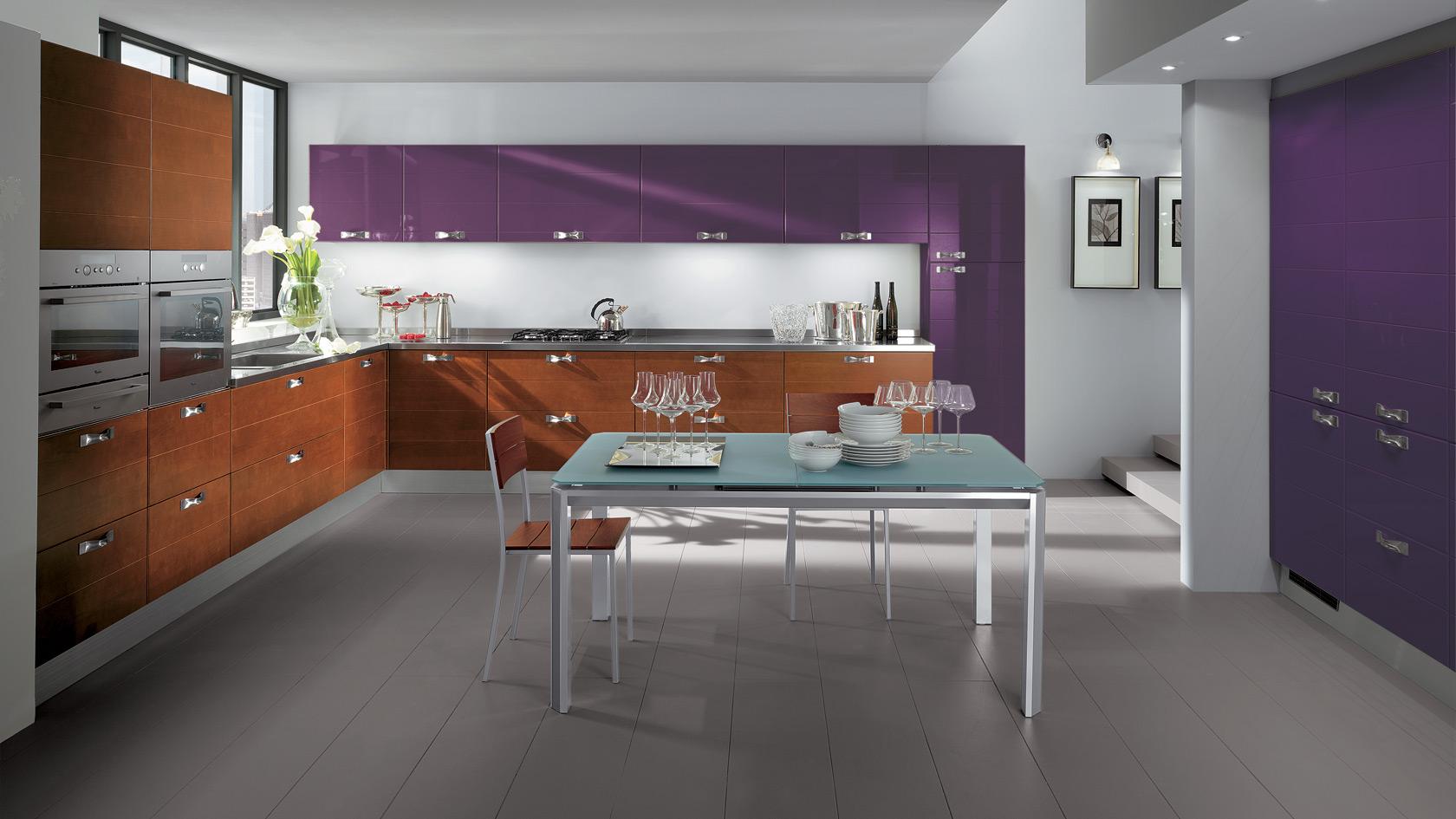 Cosa abbino ai mobili in ciliegio - Cucina scavolini carol ...