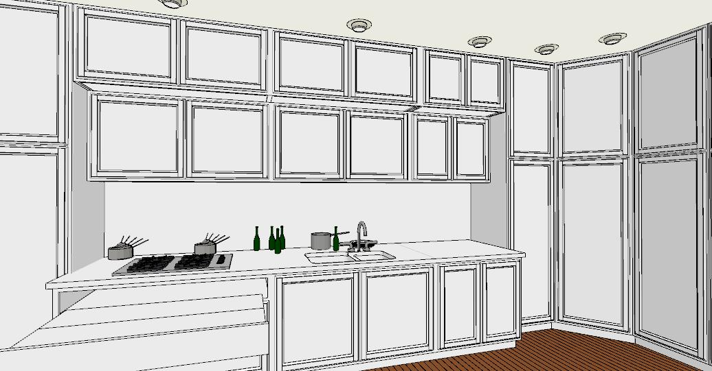 6 regole per una cucina perfetta lineatre arredamenti - Altezza parapetto finestra ...