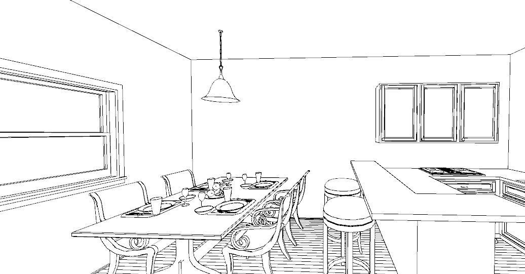 Una penisola in cucina lineatre arredamenti alberobello for Altezza piano cucina