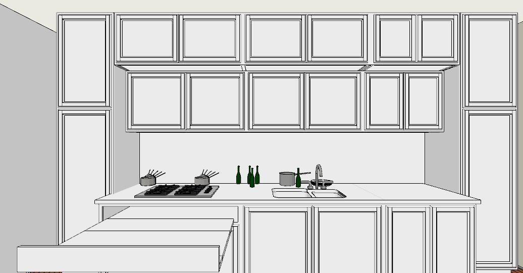 6 regole per una cucina perfetta lineatre kucita gli - Altezza pensili cucina da top ...