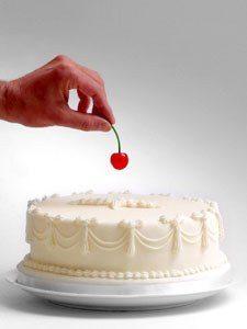 ciliegina sulla torta