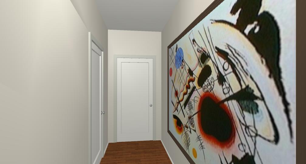 Come appendere i quadri alle pareti lineatre arredamenti - Quadro sopra letto ...