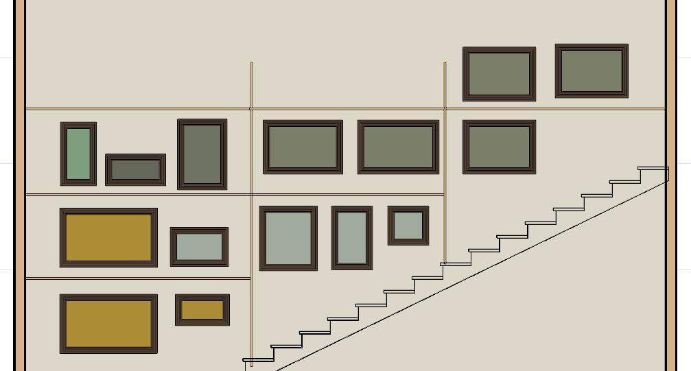 Come appendere i quadri alle pareti lineatre arredamenti for Appendere quadri ikea