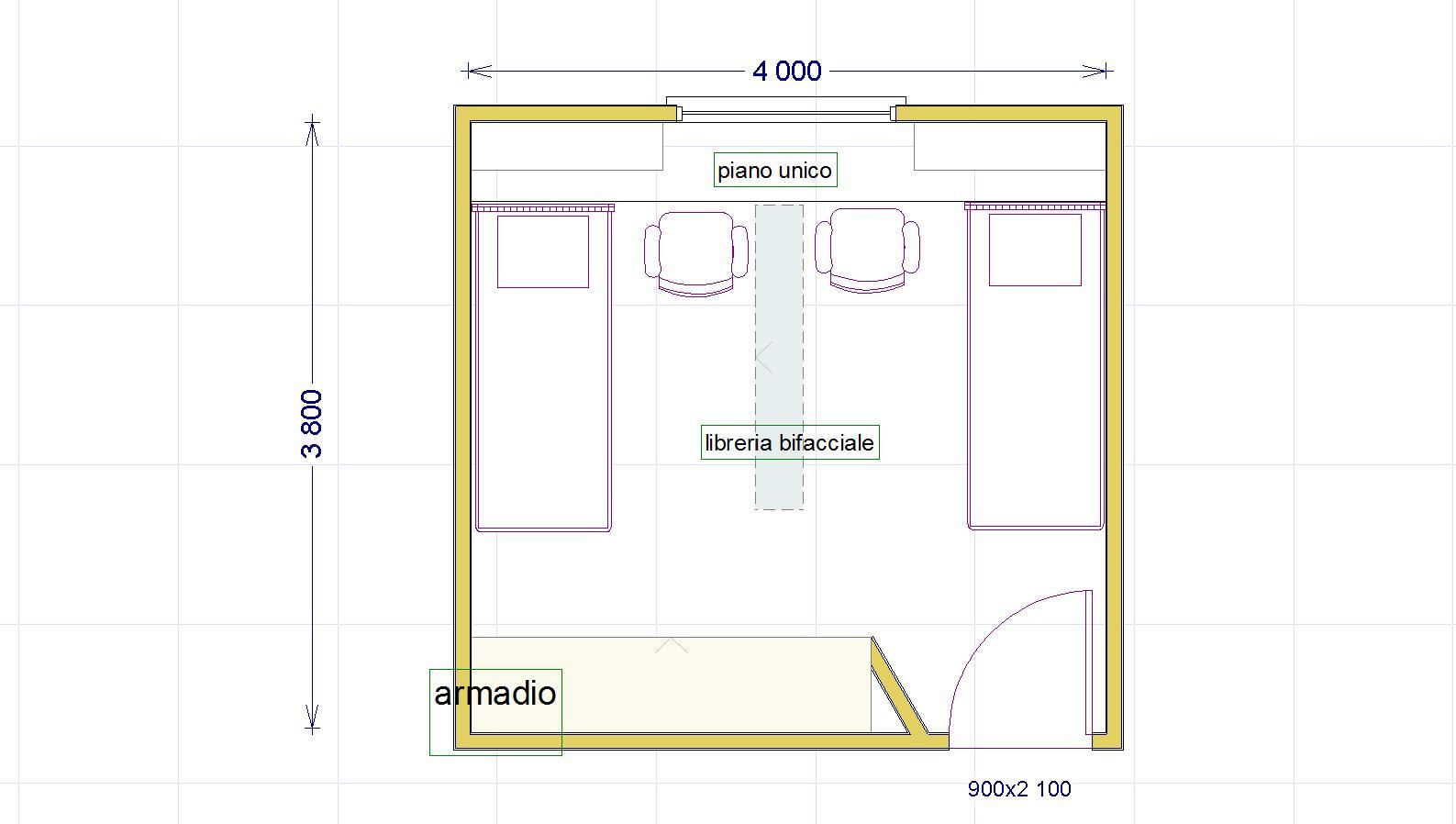 Una cameretta per due con diritto di privacy - Dividere una camera in due ...