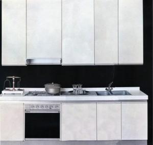 La cucina bianca lineatre arredamenti alberobello - Cucine anni 70 ...