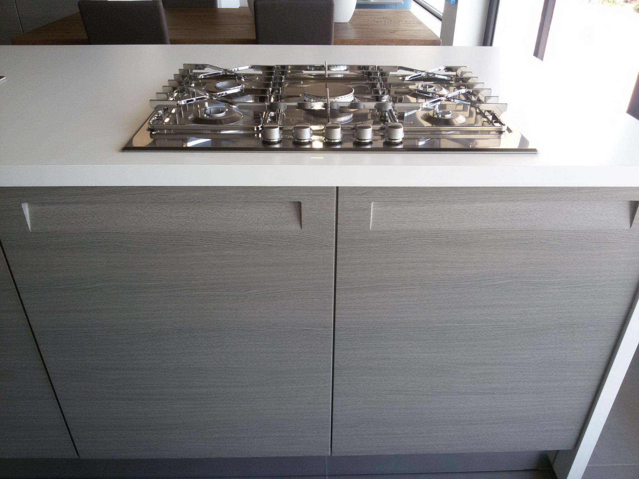 La cucina moderna senza maniglia detta con gola - Maniglie per ante cucina ...