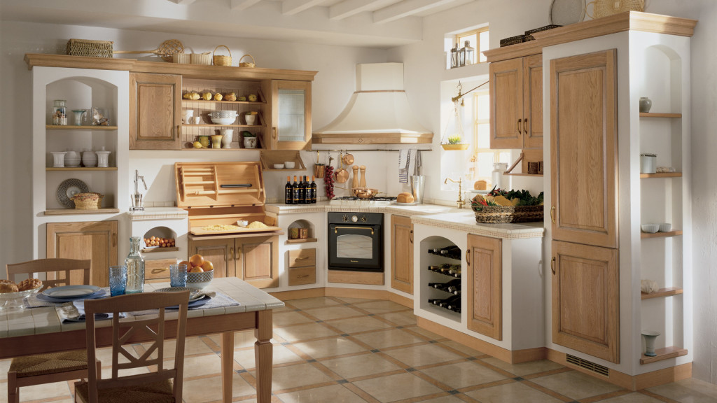 Quale top per la cucina? il piano piastrellato   lineatre arredamenti