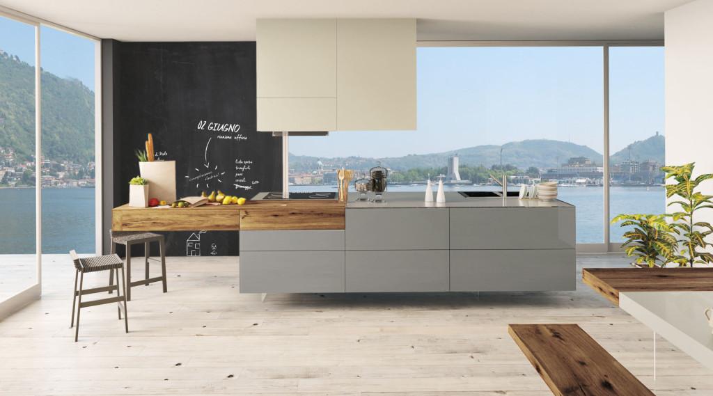 La cucina senza maniglia lineatre arredamenti alberobello - Veneta cucine recensioni ...