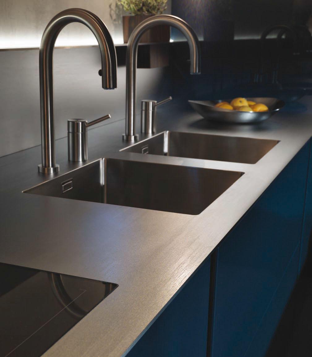 Stunning piano cucina in acciaio gallery - Piano cucina acciaio ...