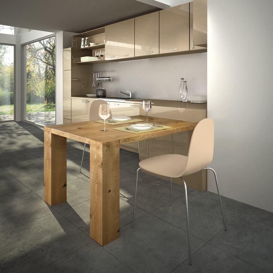 Quale top in cucina? il piano in legno - Lineatre Arredamenti ...