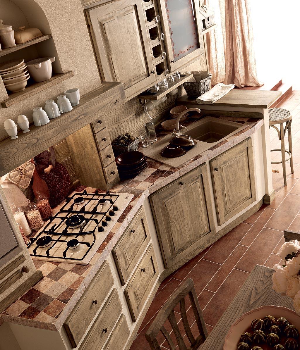 Quale top per la cucina? Il piano piastrellato - Lineatre ...