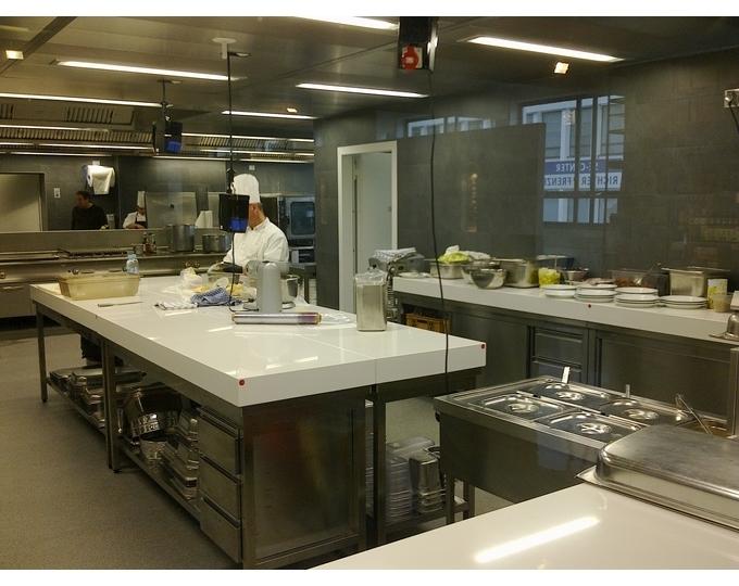 Quale top in cucina piani in quarzo lineatre arredamenti alberobello - Piani cucina in okite ...