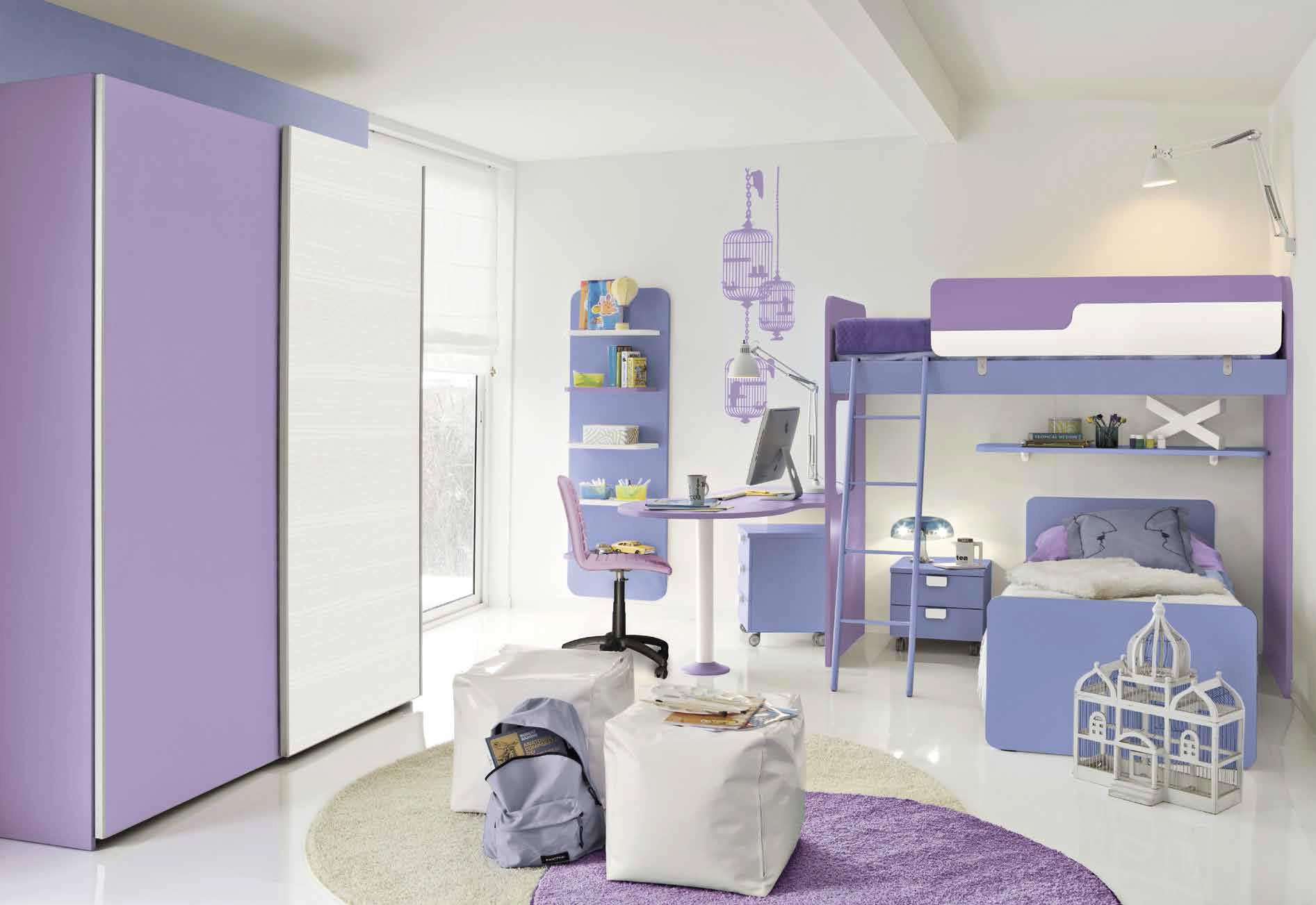 Camerette attrezzate la camera per ragazzi capitolo 5 lineatre arredamenti alberobello - Camerette con 3 letti ...