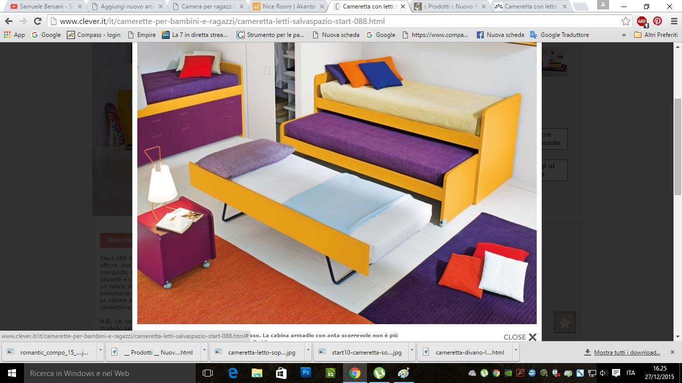 Camerette attrezzate la camera per ragazzi capitolo 5 lineatre arredamenti alberobello - Subito it divano letto ...