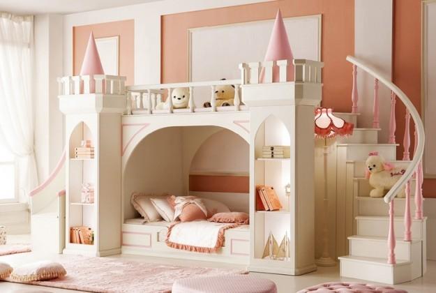 Camerette attrezzate la camera per ragazzi capitolo 5 lineatre arredamenti alberobello - Letto castello scivolo ...