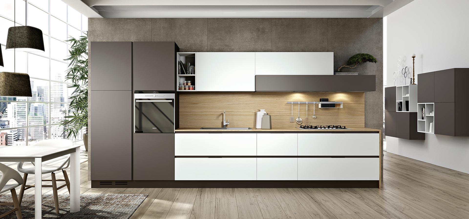 Stunning Rivestimenti Cucina Moderna Bianca Gallery - Ideas ...
