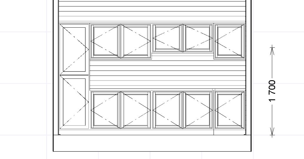 Dimensioni mobili cucina stunning altezza pensili cucina for Linea arredamenti modena