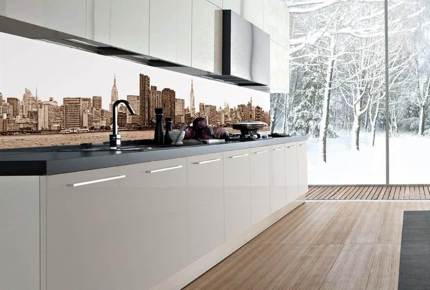 Tra basi e pensili in cucina lineatre arredamenti - Pannelli per cucina ...