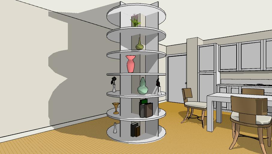 10 idee per abbellire o mascherare un pilastro for Progettare un salone