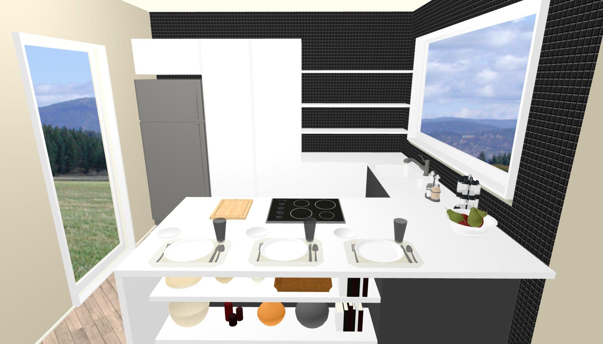 Cucina archivi lineatre arredamenti alberobello - Cucina senza piastrelle ...
