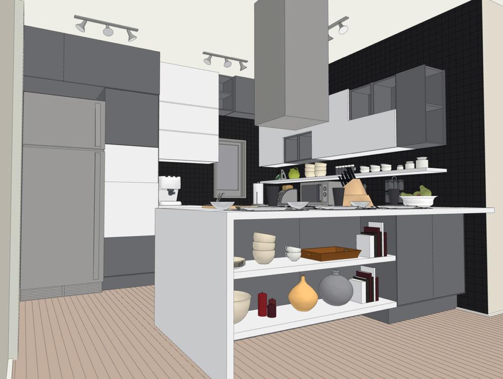 Cucina archivi lineatre arredamenti alberobello - Profondita pensili cucina ...