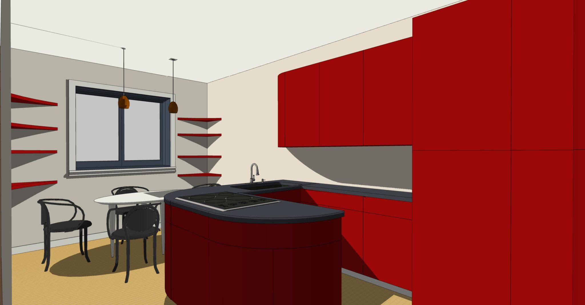 Arredare stanza lunga e stretta archivi lineatre for In cucina arredamenti roletto