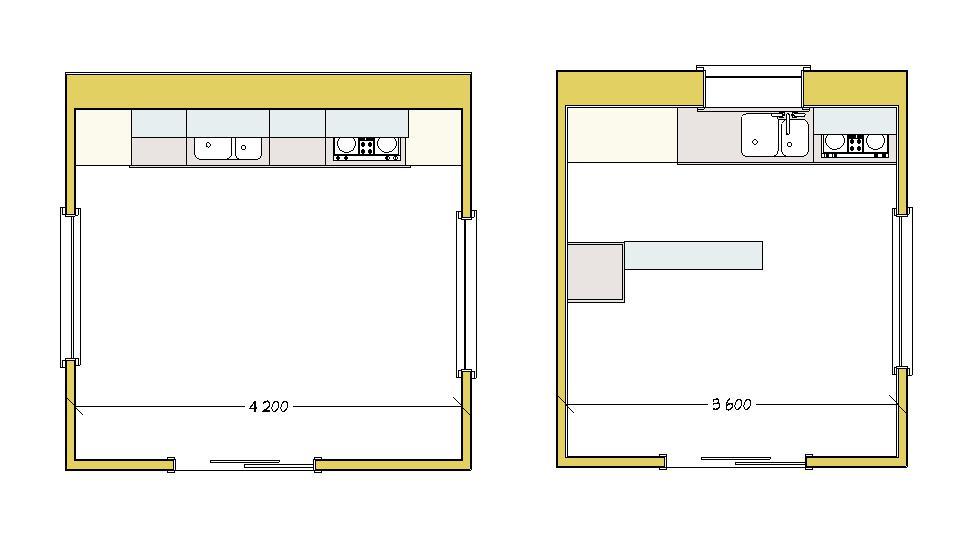 Cucina archivi lineatre arredamenti alberobello - Pianta di una cucina ...