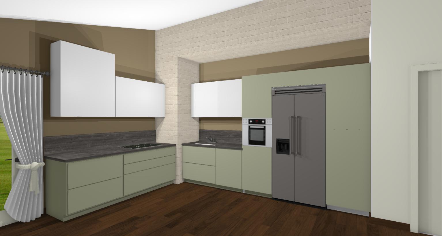 Come trasformare una cucina lineare in angolare - lineatre - kucita ...