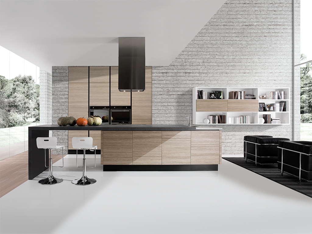 Cucine moderne lineatre arredamenti alberobello - Cucine in linea moderne ...