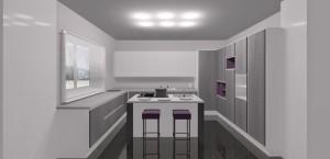 Read more about the article Come mascherare una porta  in cucina.