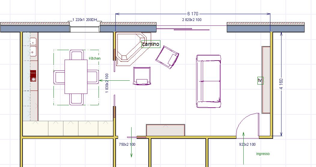 Misure standard mobili soggiorno damesmodebarendrecht for Misure standard cornici a giorno