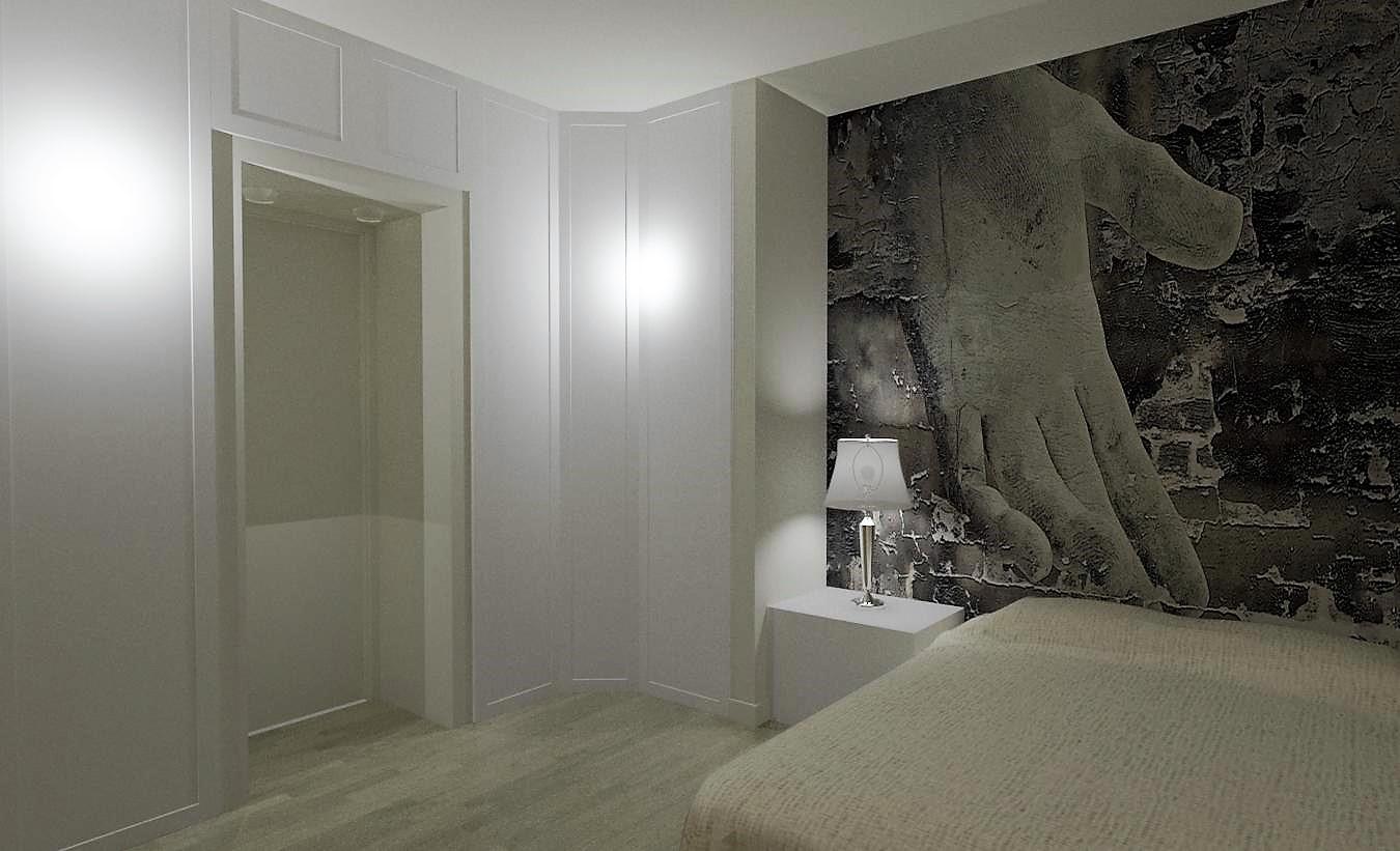 Camera lunga e stretta